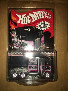 2013 hot wheels thunder roller collector edition redline real rider car keeper