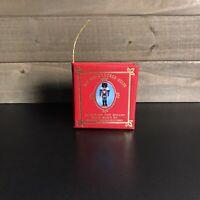 Vintage Kurt S Adler 1977 Mini Book Christmas Ornament The Nutcracker Suite