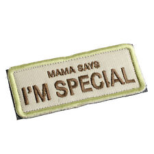 Embroidery MAMA Says I'm Special Sentence Magic Armband Sticker Arm Patch Badge
