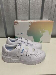 Puma Selena Gomez Cali Trainers Sneakers White Size 5 Brand New