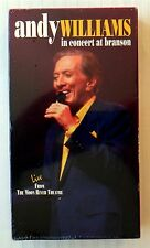 Andy Williams in Concert At Branson ~ New VHS Movie ~ Live Music ~ Rare Video
