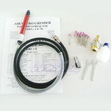 """1/8"""" Air Micro Grinder Pencil Type Tool Kit For 54000RPM 90 PSI Die Grinder"""