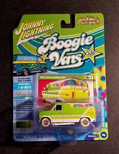 Johnny WHITE Lightning BOOGIE Vans 1976 Ford ECONOLINE Van STREET Freaks B2