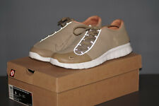 Nike FOOTSCAPE FREE PRM NSW NRG 2011 Gr.42,5 UK 8 braun weiss Leder 524154 221