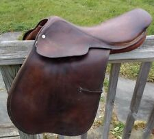 English Horse Saddle, All Purpose, Tom Wallace, 17 1/2""
