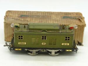 Lionel Standard Gauge #8 in Olive Hand Reverse Super Motor with Original Box