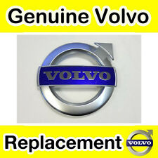 Genuine Volvo C30, S40, V50, C70 (11-) Grill Badge (Matt Chrome R-Design)