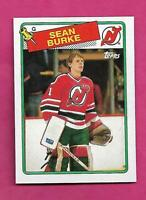 1988-89 TOPPS # 94 DEVILS SEAN BURKE  ROOKIE NRMT-MT CARD (INV# C1965)
