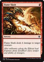 4x Flame Slash - NM - Conspiracy Take the Crown - SPARROW MAGIC - mtg C