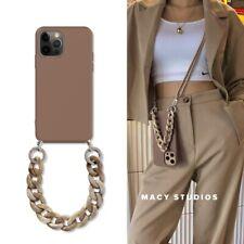 Funda protectora Iphone 12 12 mini 12 Pro 12Pro Max SE colgante cuerda cadena