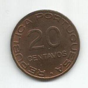 MOZAMBIQUE PORTUGAL 20 CENTAVOS 1936