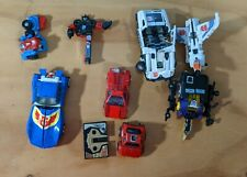 Transformers G1 Lot of broken and damaged toys. For parts only