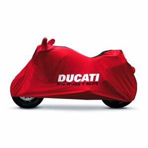 DUCATI Indoor Abdeckplane / Pelerine Bike Cover rot MONSTER 937 2021 Neu