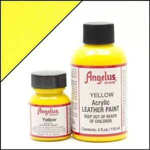 Angelus Acryl Lederfarbe Sonnen Gelb (075) 29,5ml (20,17€/100ml) Leder