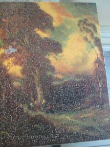 Over 300 pieces Wooden Jigsaw Puzzle - 1 Pc Missing - Hard for me to do