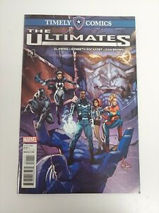 Ultimates #1 Timely Comics 1st App of Ayo and the Ultimates Marvel Comics NM