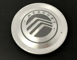 (x1) Mercury Grand Marquis Center Hub Cap Machined Silver OEM Part# 3W331A096AA