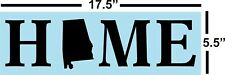Alabama Home Stencil for painting signs * Reusable, 14 Mil, Clear