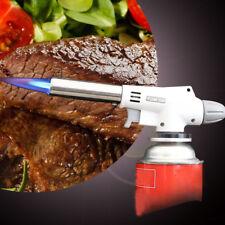 Camping Gas Torch Welding Fire Maker Lighter Butane Burner Flame Gun for BBQ New