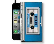 Audio Retro MP3 Phone Case Cassette Player One Size Splash Tear Proof