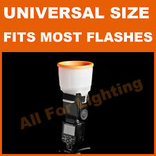 Universal Cloud Sphere Diffuser 4 Flash Light Bare Bulb Background Reflector