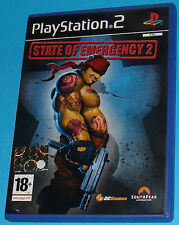 State of Emergency 2 - Sony Playstation 2 PS2 - PAL