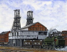 Wheldale Colliery - 1868 - 1987 - Ltd Ed Print - Pit Pics - Coal Mining
