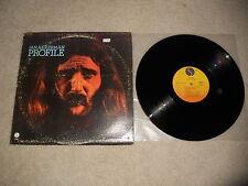 Jan Akkerman Profile 1972 1st Sire 1A Press, ULTRASONIC CLEANED! Rare LP!