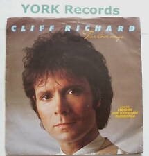 "CLIFF RICHARD - True Love Ways - Ex Con 7"" Single"