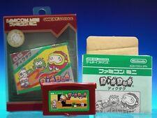 Nintendo GBA Famicom Mini Dig Dug [Japan Import] Gameboy Game Boy