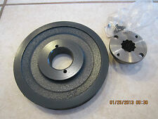 Cub Lo Boy 154 NEW PTO REAR PULLEY (CAST IRON) with MOUNTING HUB  185 184