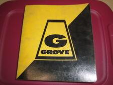 GROVE RT635 Crane  PARTS Manual  GM 4-53T Detroit Diesel  08/1986