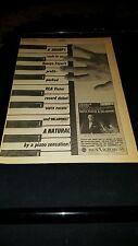 George Feyer South Pacific Oklahoma Rare Original 1958 Promo Poster Ad Framed!