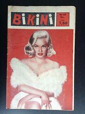 Ancienne revue Bikini N° 38 Pin up Erotisme BE