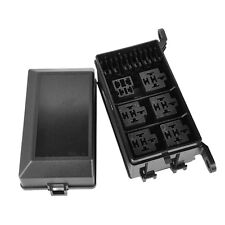 Fuse Box Car Auto 6 Relay Block Holder 5 Road Fuse Box For The Nacelle Insurance