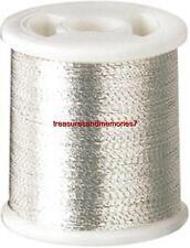 Clover KANTAN COUTURE SILVER 9903 Bead Embroidery Tool Thread