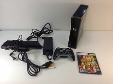 Microsoft Xbox 360 Model 1409 250GB HDD Video Game Console Black with Kinect