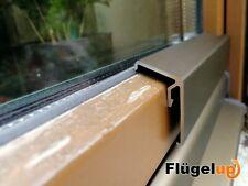 Flügelabdeckprofil für Holzfenster Silikon Schenkelverkleidung
