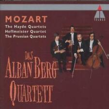 Wolfgang Amadeus Mozart : Mozart: The Late String Quartets (Alban Berg