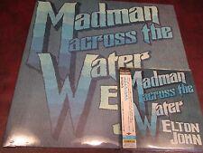 ELTON JOHN MADMAN ACROSS WATER JAPAN REPLICA TO THE ORIGINAL OBI RARE CD + VINYL