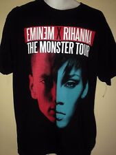 EMINEM RIHANNA MONSTER TOUR 2014 MEDIUM   T SHIRT RAP HIP HOP OOP