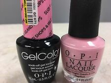 Opi Gel Color+ Matching Gel Polish Suzi Shops & Island Shops