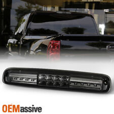 Fit 99-06 Chevy Silverado GMC Sierra 1500 2500 3500 HD LED 3rd Brake Light Smoke
