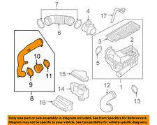VW VOLKSWAGEN OEM 05-06 Jetta Air Cleaner Intake-Hose Duct Tube Pipe 3C0129654M