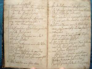 RELIGIONS-BUCH VON 1824 ANTIK 186 HANDGESCHRIEBENE SEITEN MANUSKRIPT THEOLOGIE