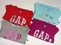 Genuine GAP Logo Girl's Sweatshirt/Top -2-5 years - AQUA,GREY,MAGENTA,RED - NEW