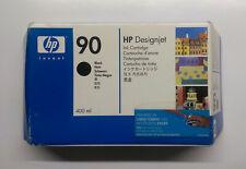 Original HP 90 negro c5058a DesignJet 4000 4500 serie OVP 2012-2016
