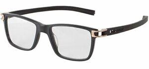 New Tag Heuer w/TAGS 7603 Track S Black TH7603 008 50mm Optical Eyeglasses