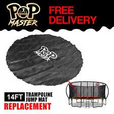 Replacement 14FT Fiberglass Trampoline Jump Mat Round Outdoor Spare Part