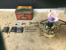 Primus 97 portable camping Stove with box 1937 working.